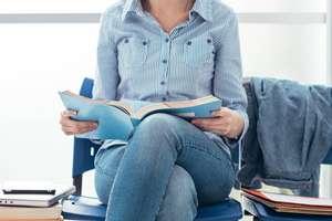Student wartet